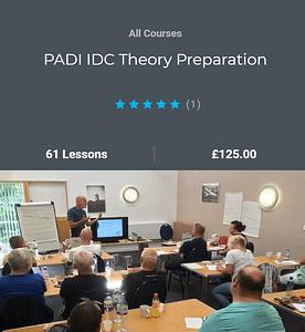 PADI IDC theory Skills