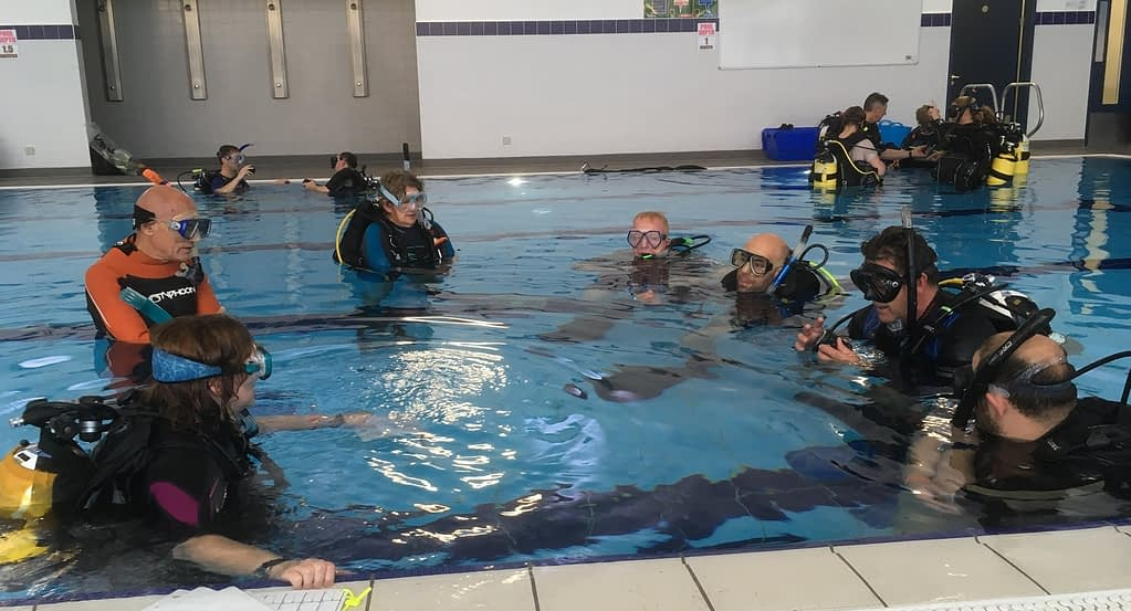 PADI Skills in Confined Water
